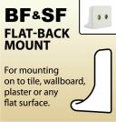 BF & SF - Flat-Back Mount