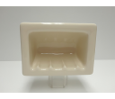Fully Recessed Soap Dish (limited colors)