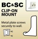 BC & SC - Clip-On Mount