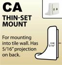 CA - Thin-Set Mount